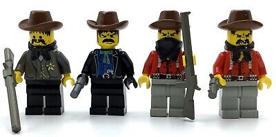 wild west cowboys lego